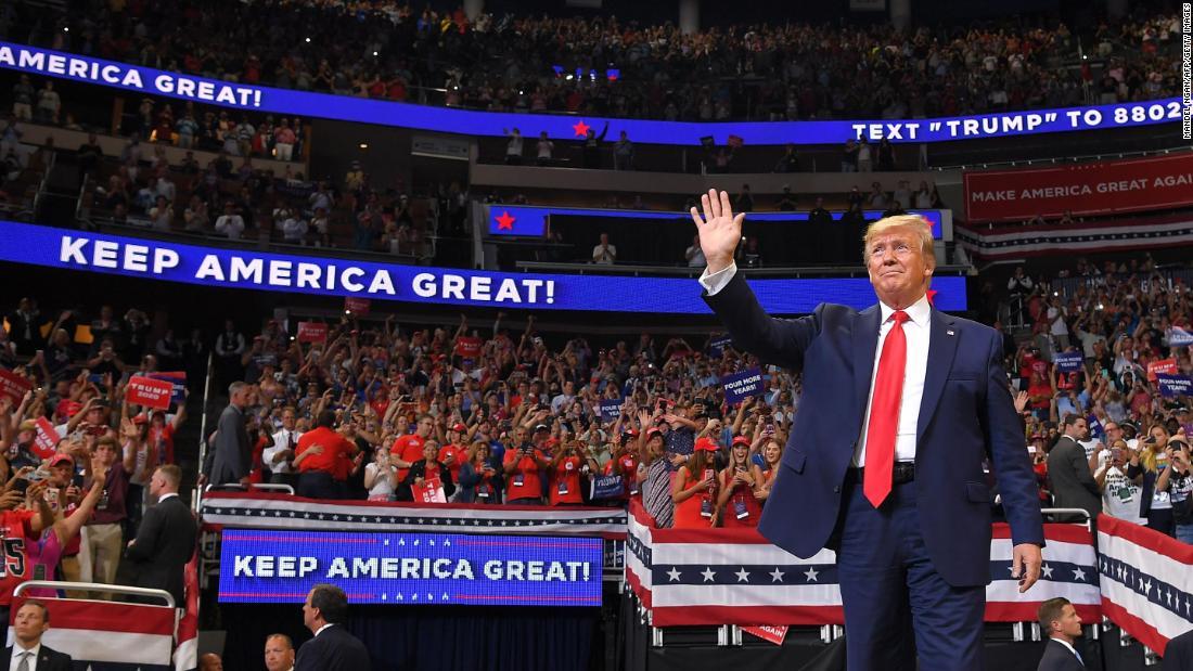 Trump rally in Tulsa, Oklahoma