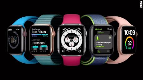 Apple unveiled software updates to its lineup of smartwatches.