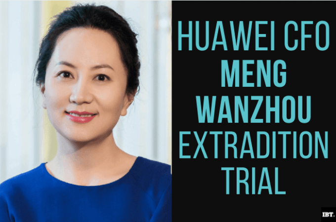 Huawei CFO extradition case