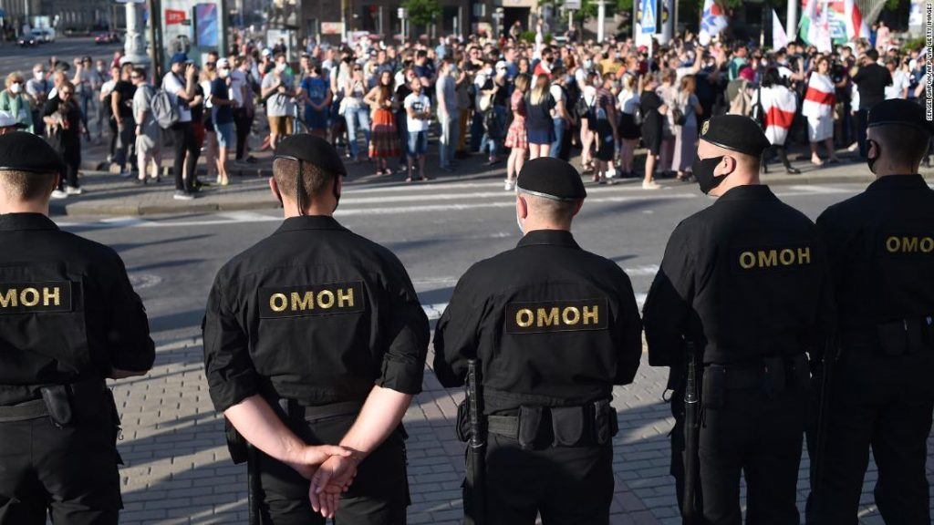 Belarus strongman faces mass protests after jailing of his main rivals