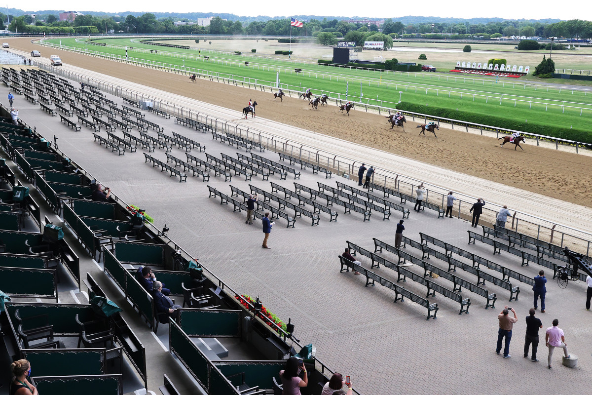 Belmont Stakes-winning trainer Barclay Tagg liked the 'quietude'
