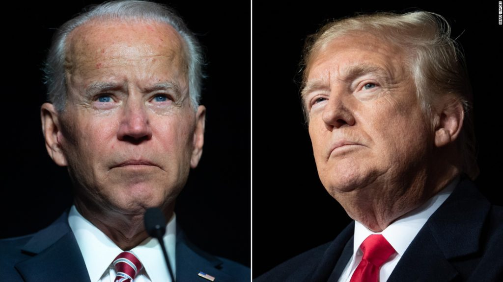President Trump pushes back against Joe Biden's criticism