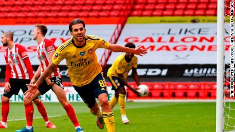 Dani Ceballos scored Arsenal's winner in extra time against Sheffield United.