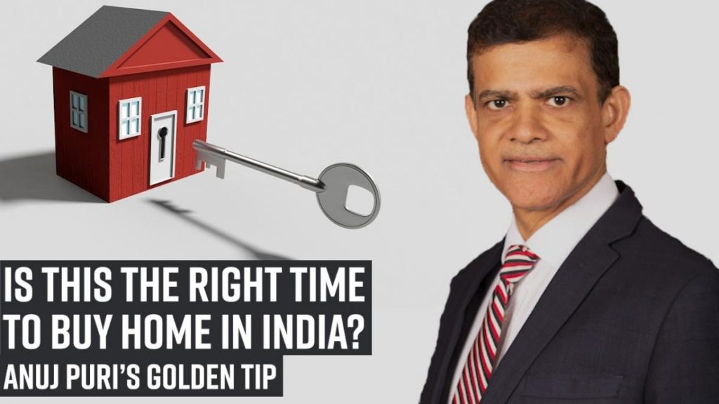 Anuj Puri shares important tip on house-buying