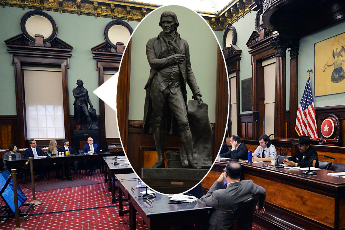 Pols call on de Blasio to boot Thomas Jefferson from City Hall