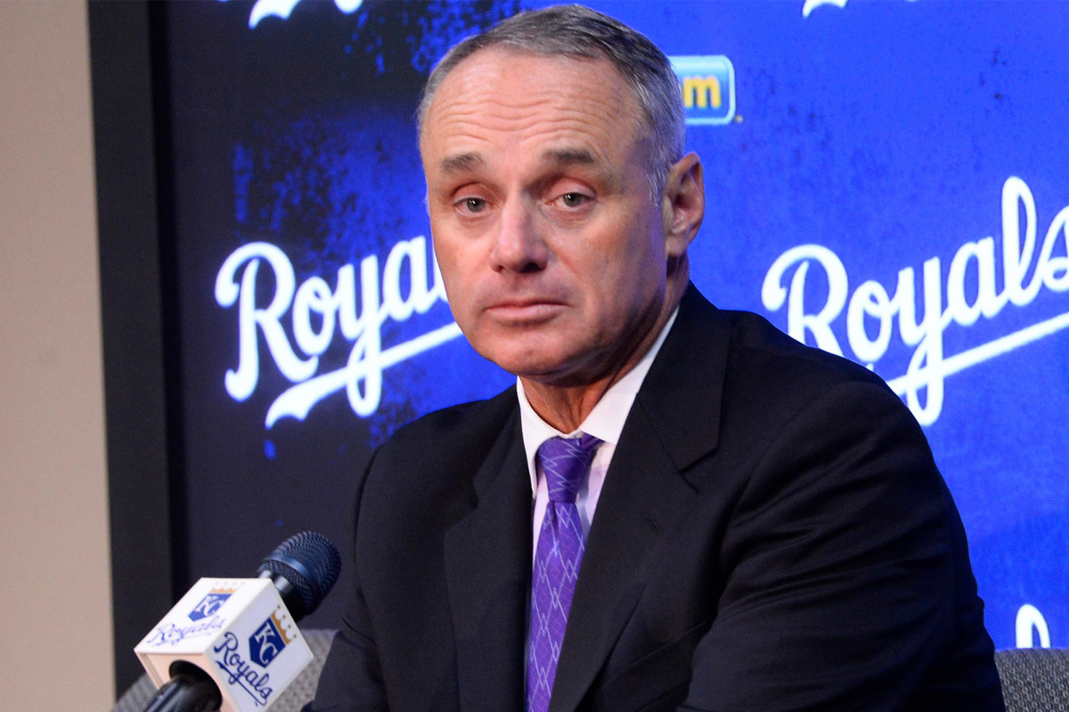 Rob Manfred being forced into decision he loathes
