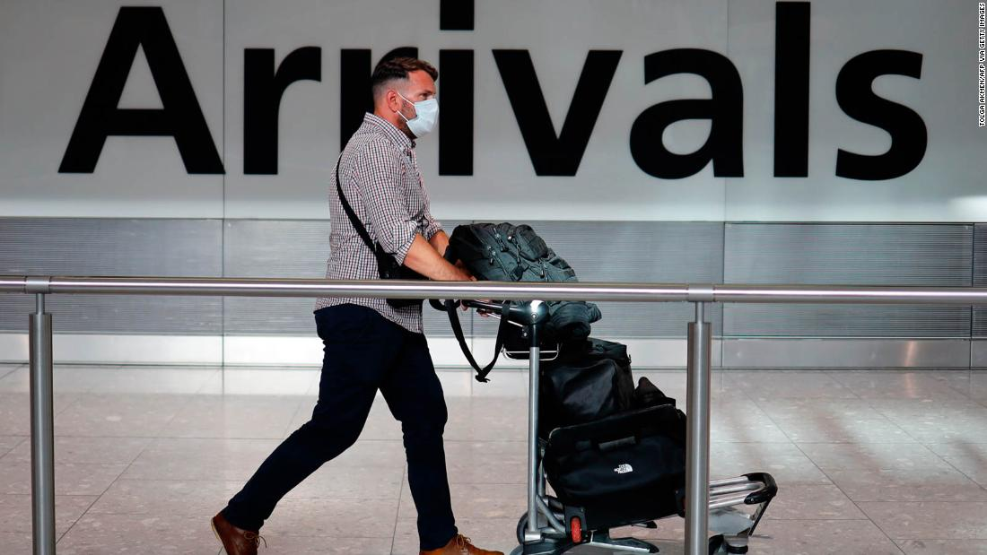 Travel relief for Britons as government reviews two-week quarantine