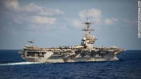 US aircraft carrier hit by major coronavirus outbreak returns to sea