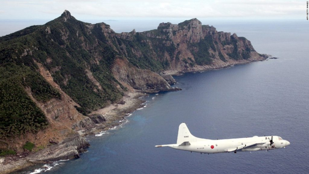 Japan says Chinese ships commit history time violating its territorial waters
