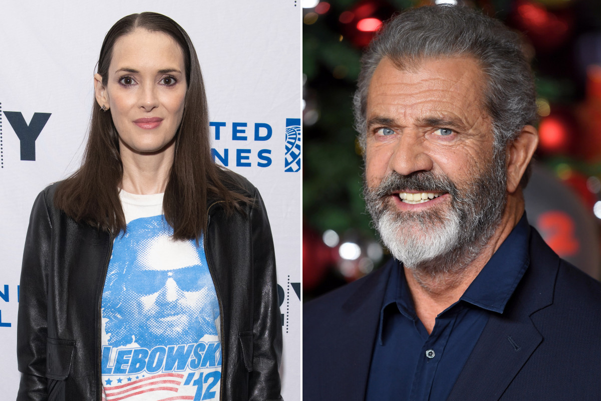 Winona Ryder claims Mel Gibson asked her if she was 'oven dodger'