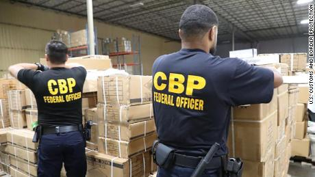 CBP officers detained a shipment of products/accessories suspected to be made with human hair.