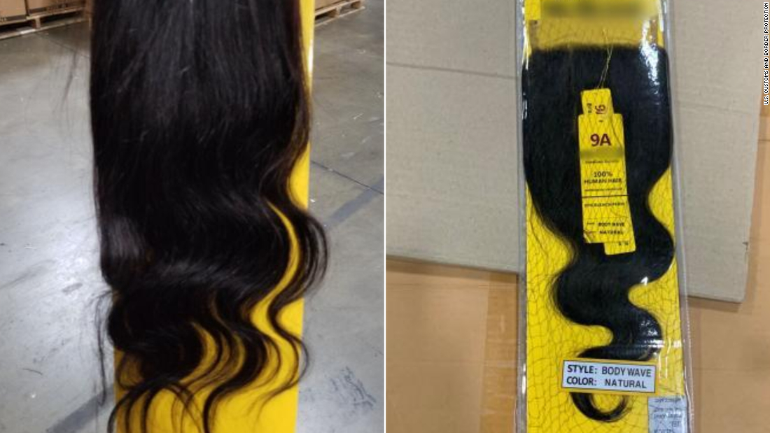 13-ton shipment of human hair, likely from Chinese prisoners, seized