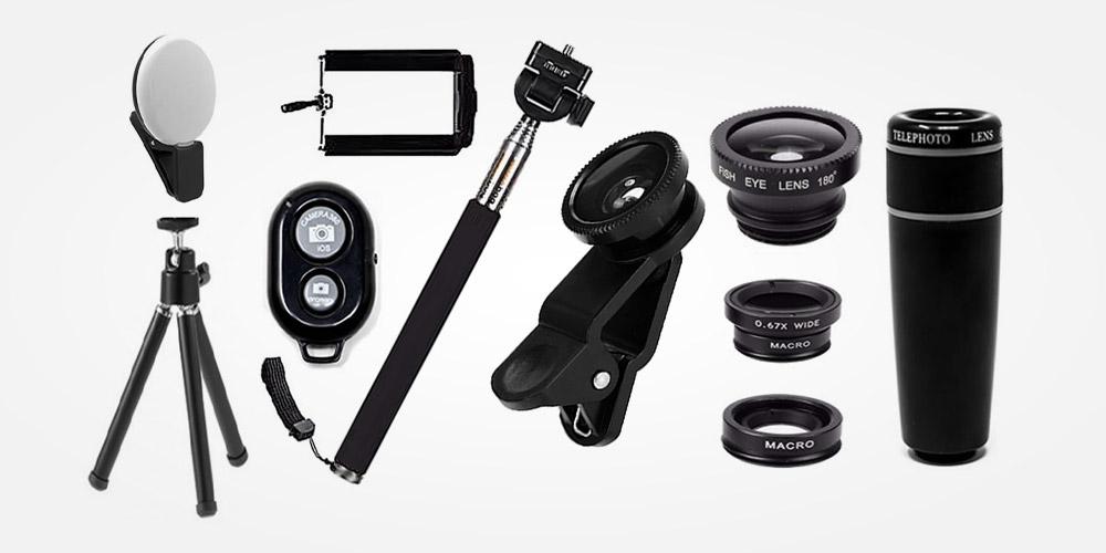 Camera phone accessories
