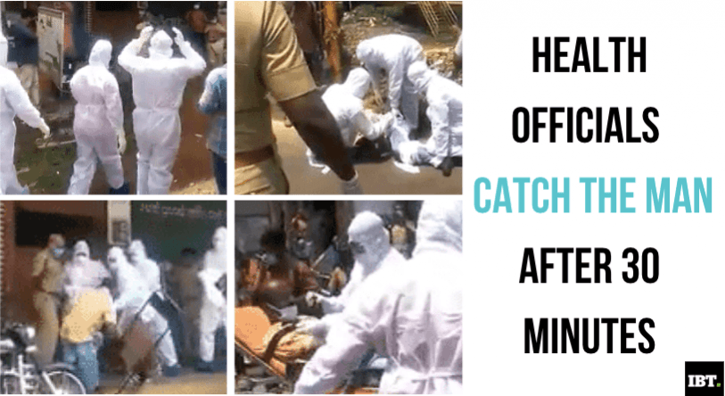 Kerala man chase