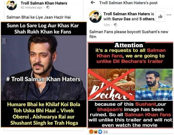 Salman Khan fans' campaign against Sushant Dil Bechara trailer