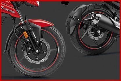 Honda XBlade BS6 disc brakes