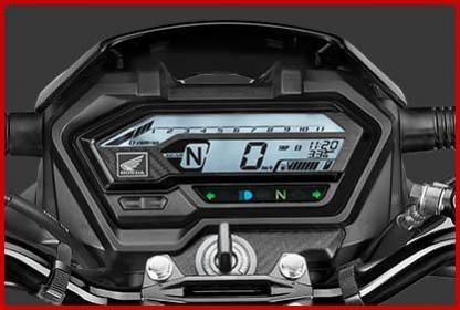 Honda XBlade BS6 digital meter