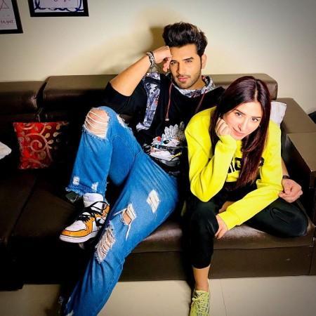 Mahira Sharma and Paras Chhabra