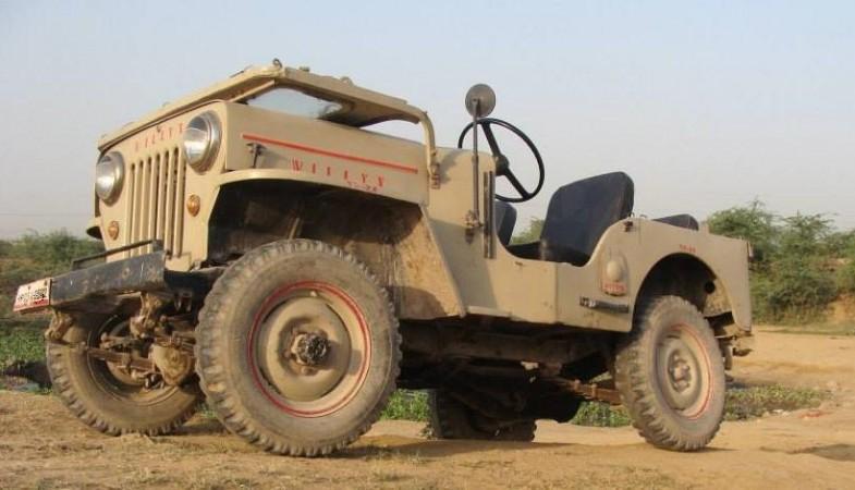 Willys Jeep CJ-3B