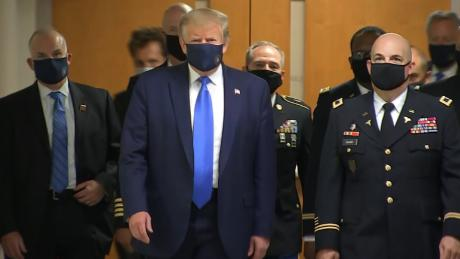 What Trump's mask can't hide