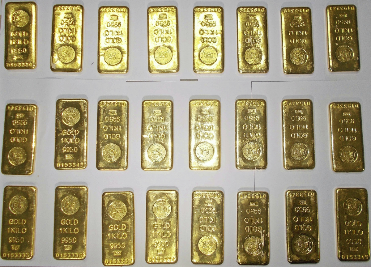 gold smuggling seized seizure dri bengaluru prices yellow metal price difference india modi govt airport delhi mumbai customs