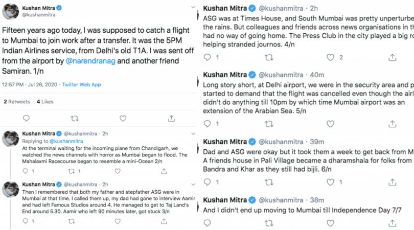 Mumbai flood experience