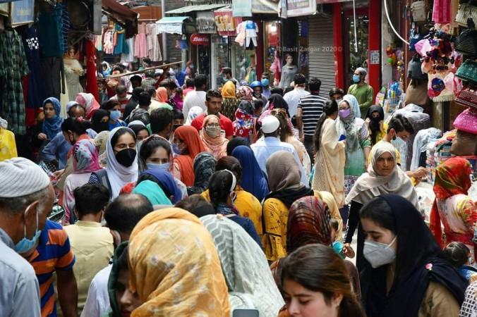 Lal chowk Kashmir
