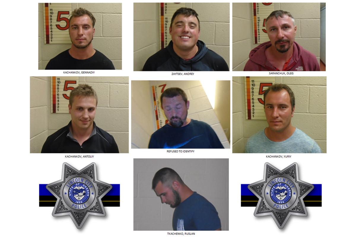 7 men arrested for making Nazi salutes, racial slurs at black family