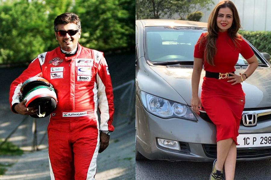 Racer Alisha Abdullah slams reports of her meeting with Ajith