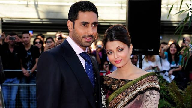 Abhishek Bachchan and Aishwarya Rai  at the BFI Southbank on June 16, 2010 in London, England.