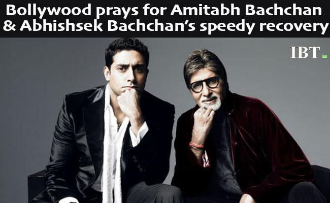 Amitabh and Abhishek Bachchan tests positive for Coronavirus, Bollywood prays for speedy recovery