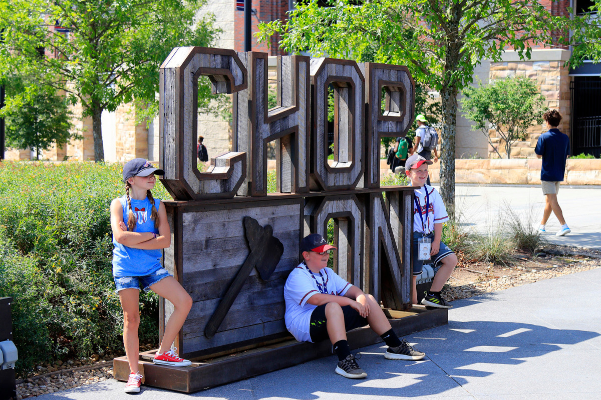 Braves remove 'Chop On' sculpture from outside stadium