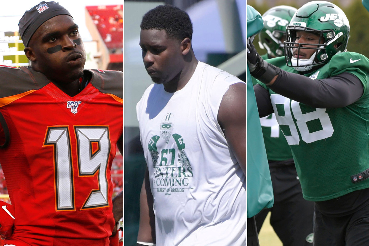 Breshad Perriman, Folorunso Fatukasi and Kyle Phillips primed for breakouts