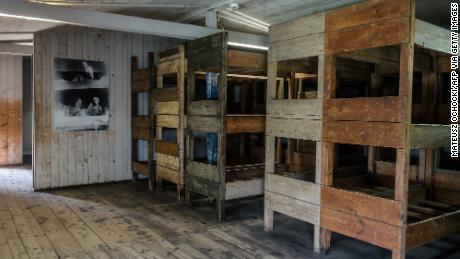 Stutthof concentration camp housed more than 100,000 prisoners.