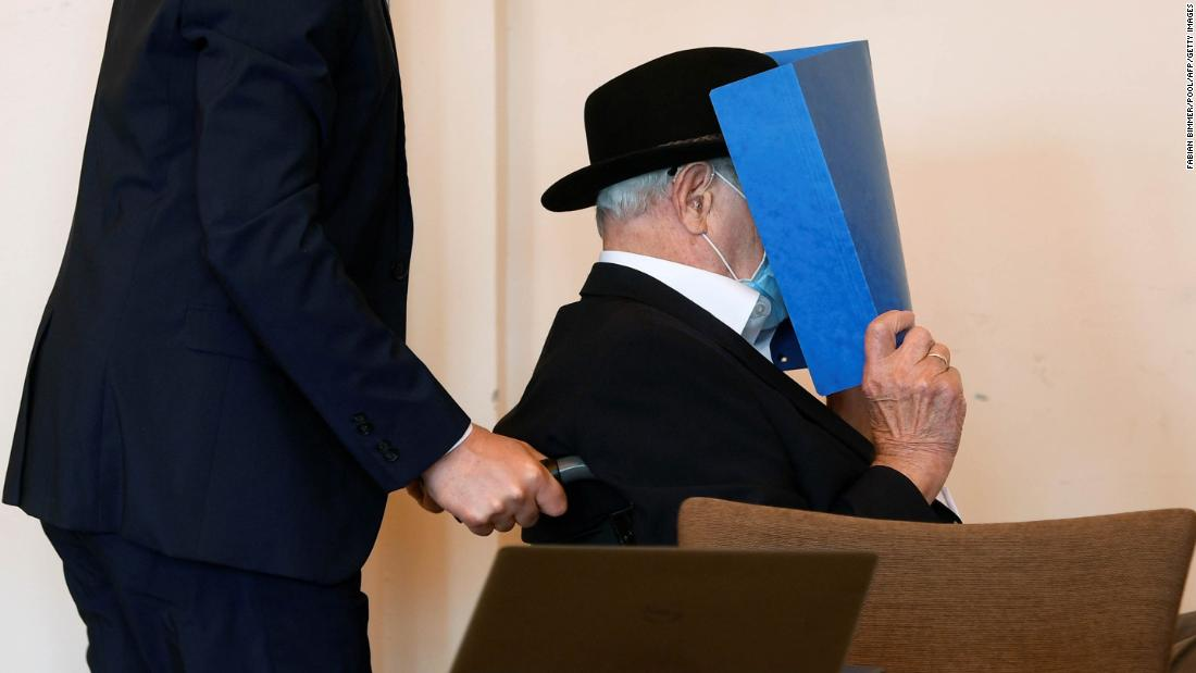 Bruno D, former Nazi SS concentration camp guard, convicted in Germany