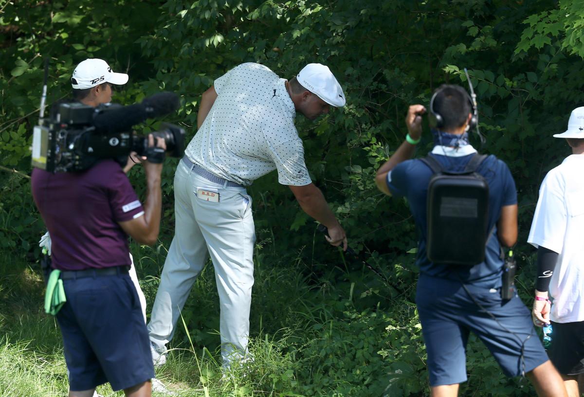 Bryson DeChambeau's epic Memorial meltdown helped Tiger Woods