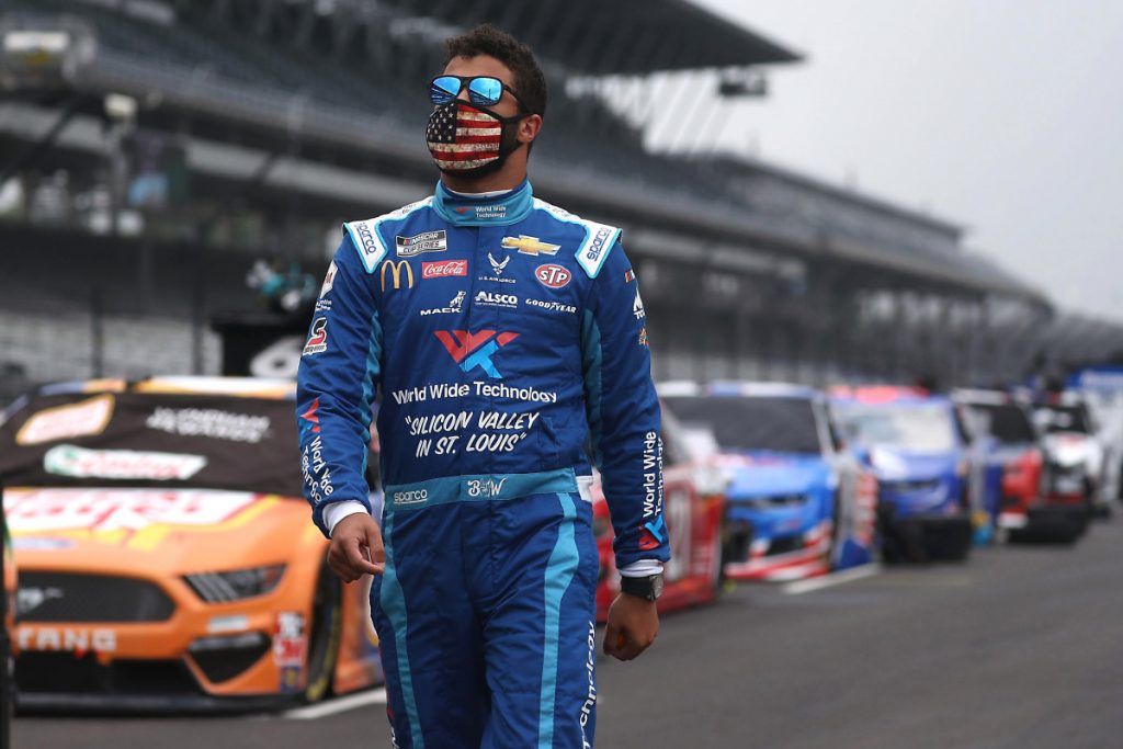 Bubba Wallace signals endorsement offer with Beats by Dre