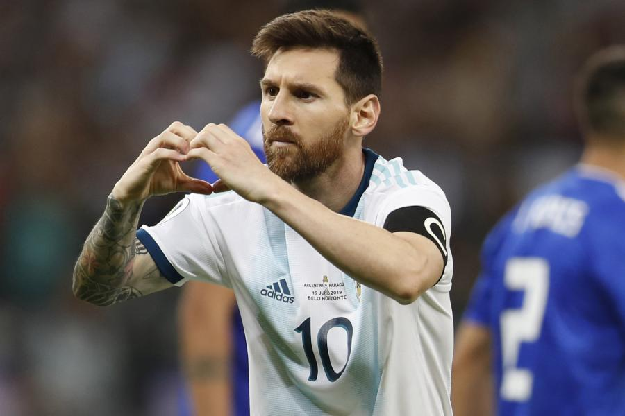 Messi voted as world
