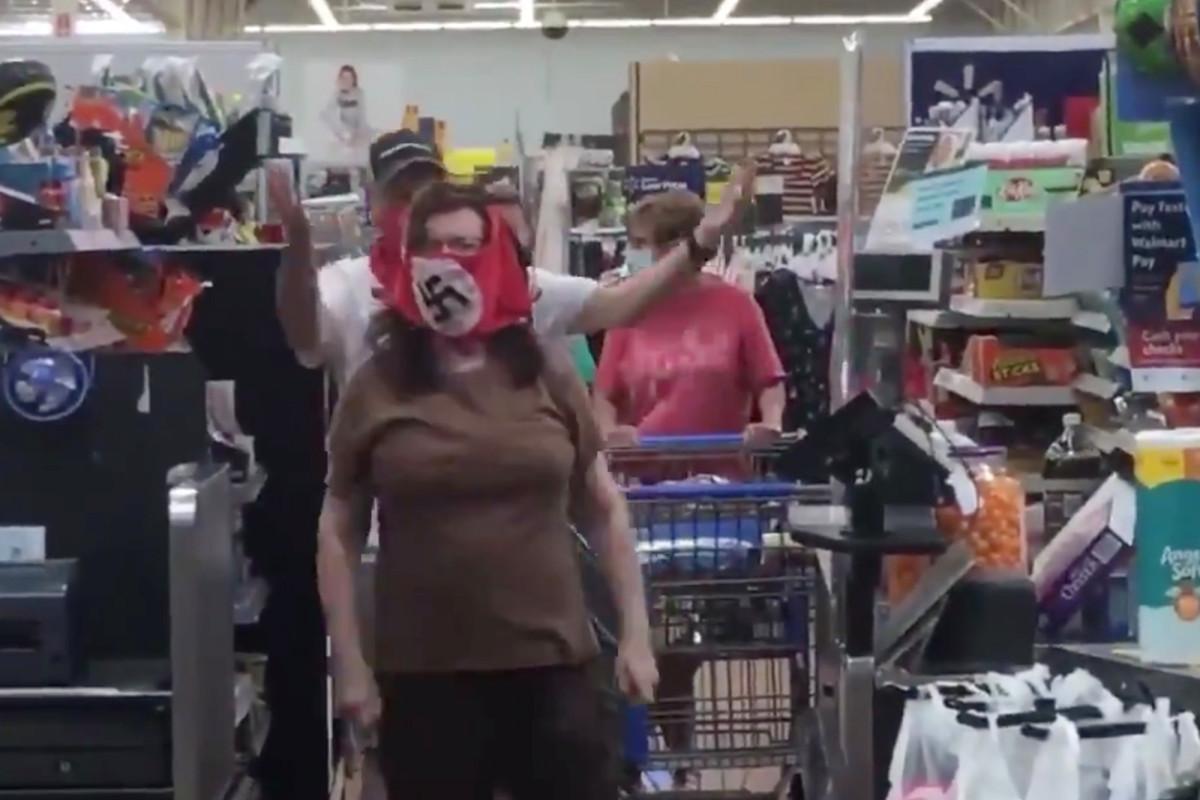 Couple wears swastika face masks at Walmart in Minnesota