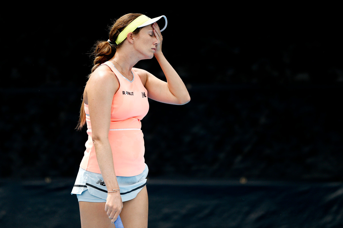 Danielle Collins out of World TeamTennis for breaking quarantine