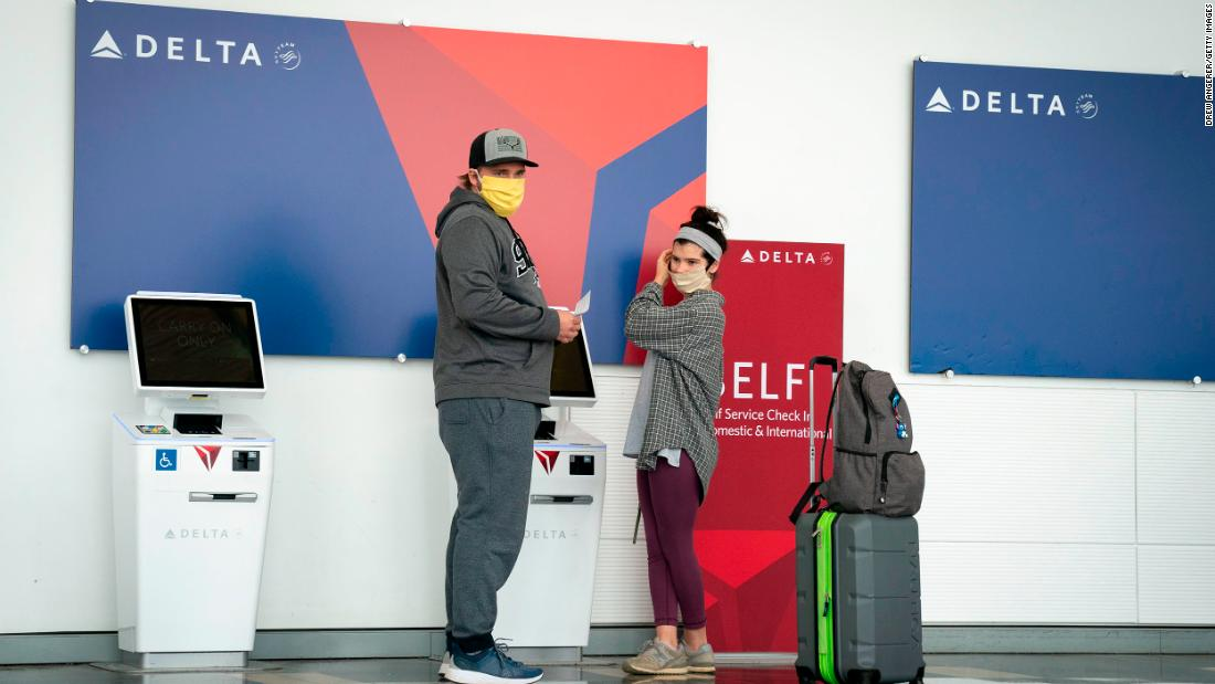 Delta Airlines will require passengers who can't wear face masks to get a medical evaluation