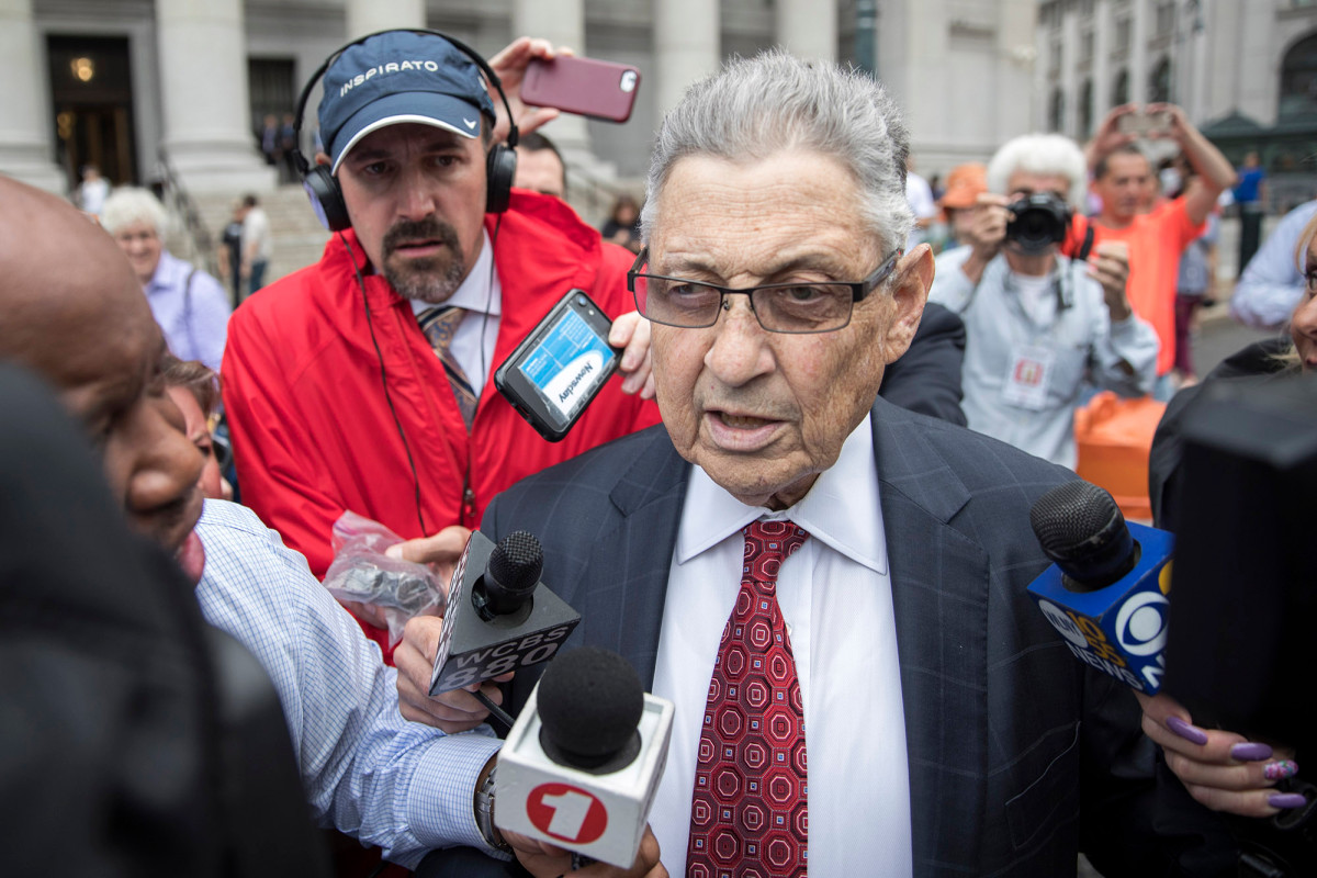 Disgraced ex-Assembly speaker Sheldon Silver to be sentenced Monday