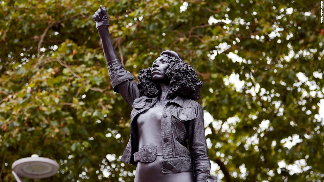 Edward Colston statue replaced with one of a Bristol protester