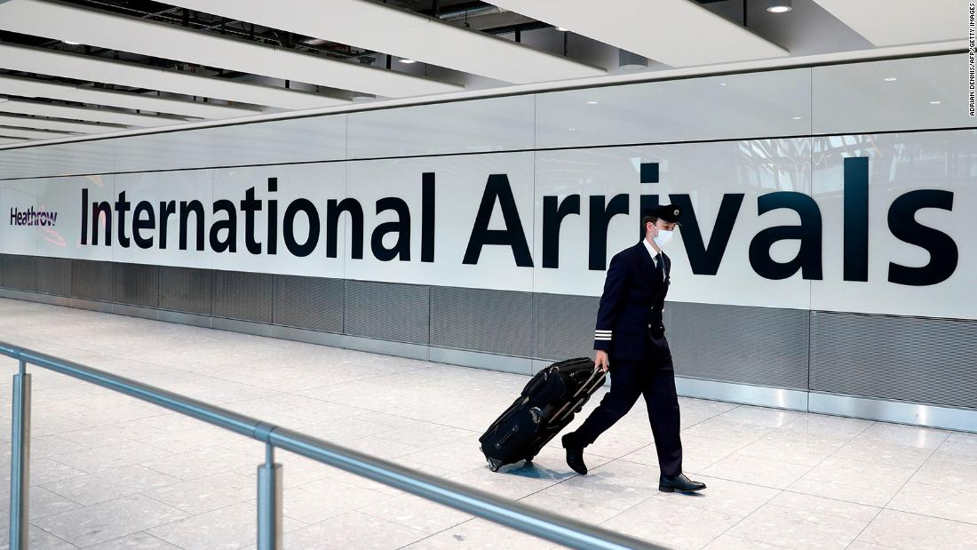 England unlocks travel with 59 countries -- but not US