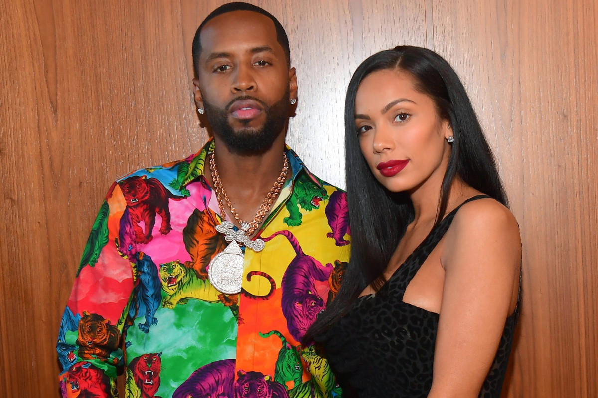 Erica Mena and Safaree Samuels have begun teasing their OnlyFans content