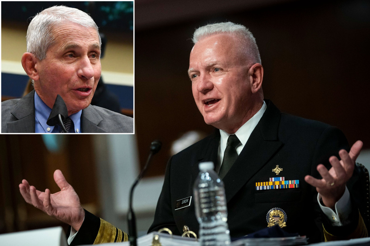 Fauci 'not 100 percent right' about COVID-19 spike, top official says