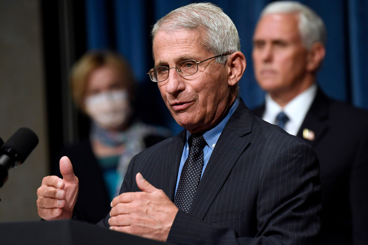 Fauci says he and his family have received 'serious threats'