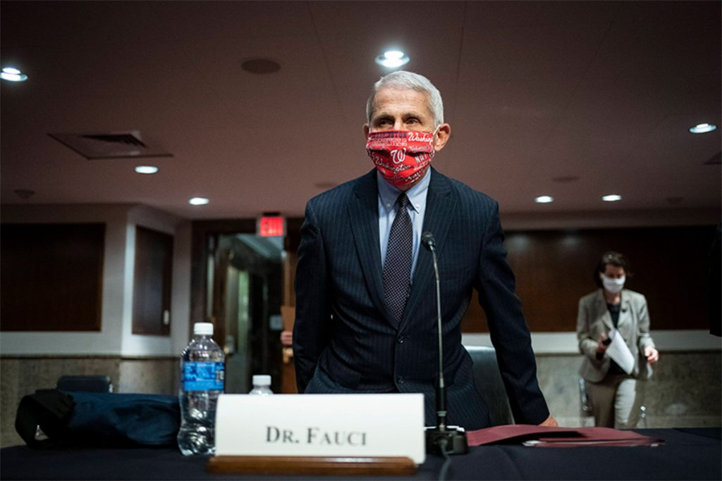 Fauci urges Americans to stop going to bars 'right now'