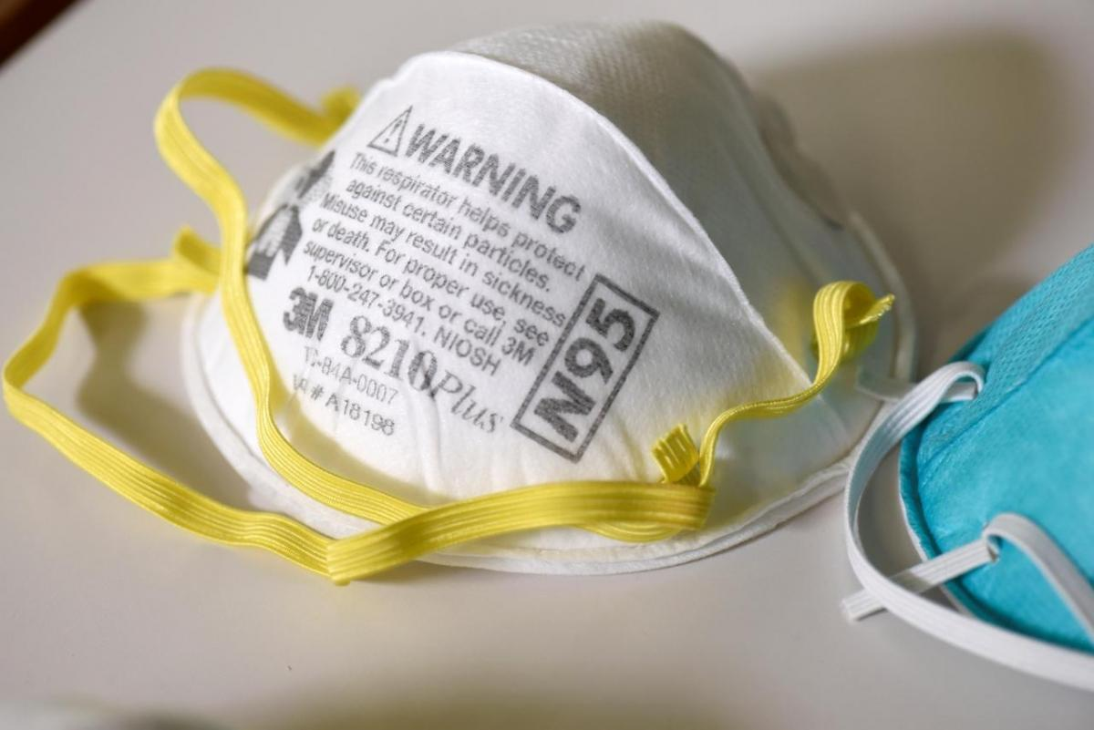 Government warns against use of N-95 masks with valves