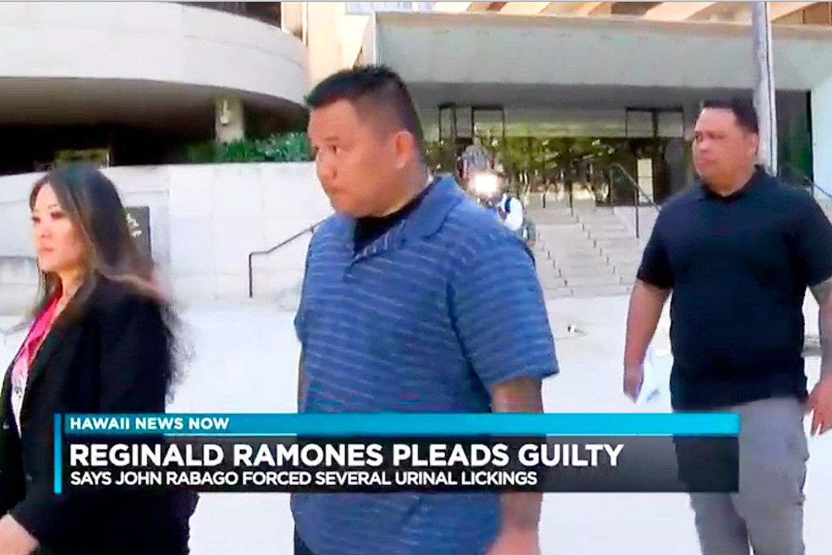 Former Honolulu cop sentenced for forcing homeless man to lick urinal